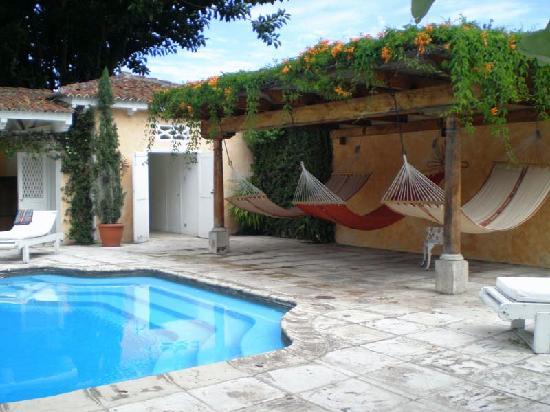 Mansion del Pensativo: hammocks