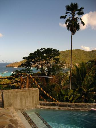 AQUA on Bequia: View From Pool Deck