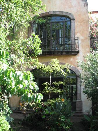 Villa Ganz: Our room upstairs.