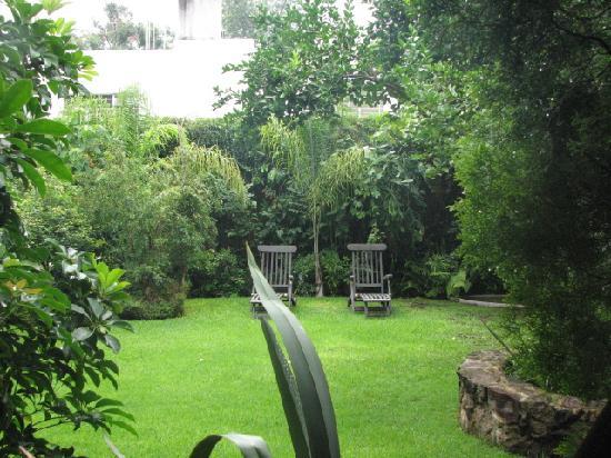 Villa Ganz: The patio