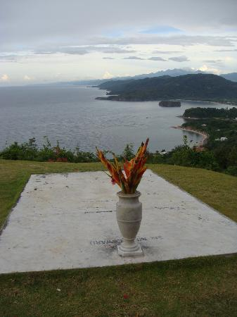 Oracabessa, Jamaïque : View from Firefly Jamaica