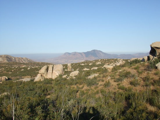 Tecate, Messico: trail view
