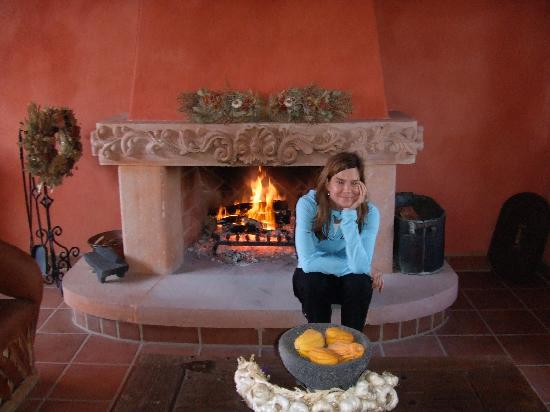 Rancho La Puerta Spa: fireside