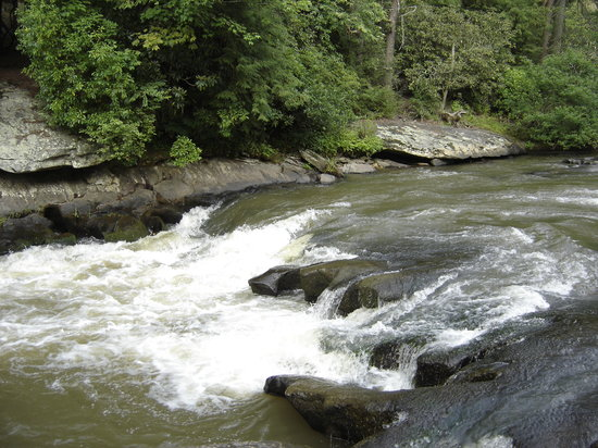 Blue Ridge, Geórgia: Toccoa River Rapids