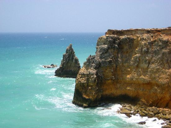 Tres Sirenas Beach Inn: A view from one of the cliff's at the Cabo Rojo area!