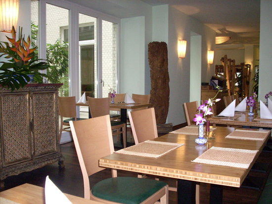 Sisaket : Restaurant view/interno del ristorante