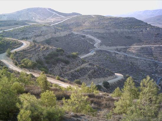 Quad Bike Safari & Rentals: some of the trails used