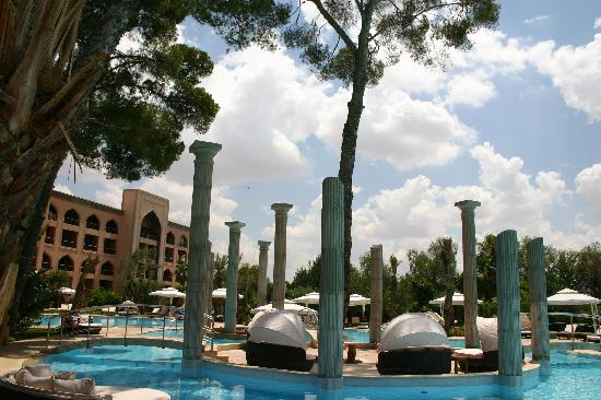Es Saadi Marrakech Resort - Palace : Very large pool