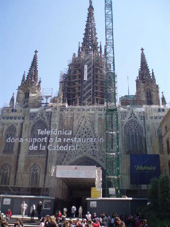 Catedral de Barcelona : Cathedral de la Seu, Barcelona