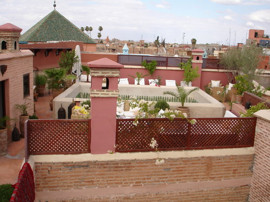 ‪رياض زولاه: Roof Terrace Riad Zolah‬