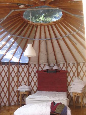 Treebones Resort: Inside our Yurt