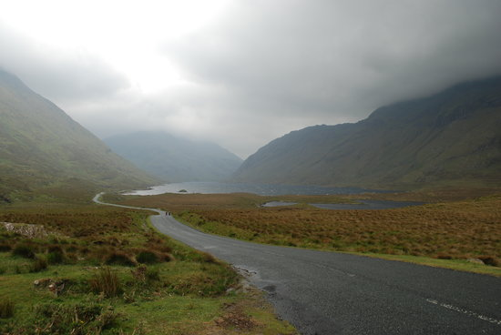 County Mayo, Irlanda: North end of Doo Lough