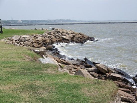 Sylvan beach la porte tx despite the name not a beach for Where is laporte texas