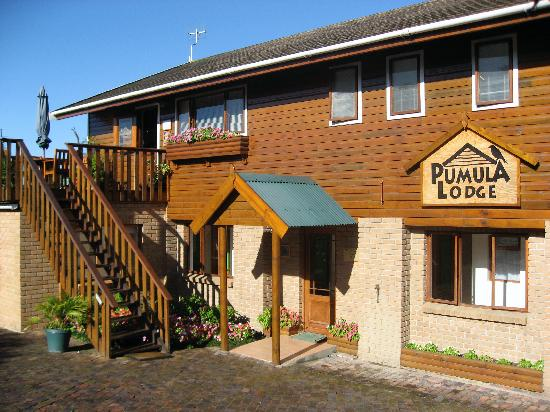Front of Pumula Lodge