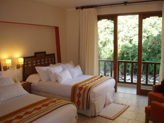 SUMAQ Machu Picchu Hotel: The room - great upgrade