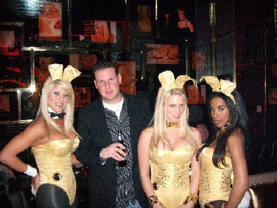 The Playboy Club at the Palms: Me and the playboy bunnies
