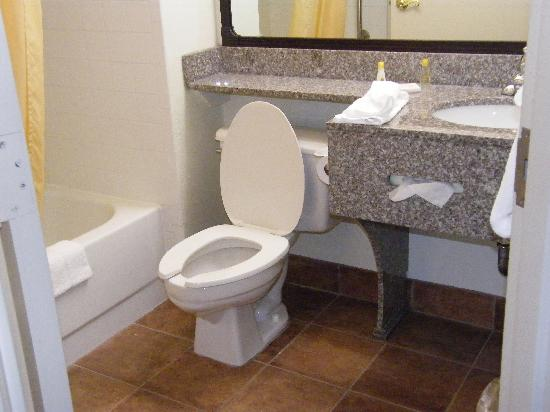Comfort Inn - Pensacola / N Davis Hwy: lovely bathrooms updates.