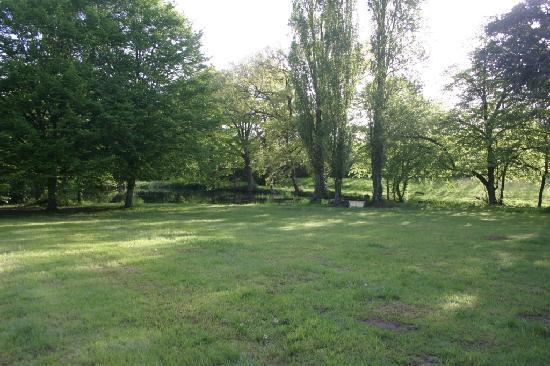 Domaine De Chatenay: Back Garden