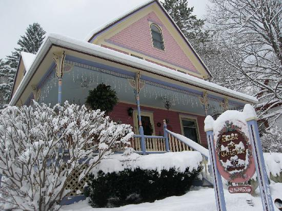 Rose & Thistle Bed & Breakfast: R&Tafter the snow