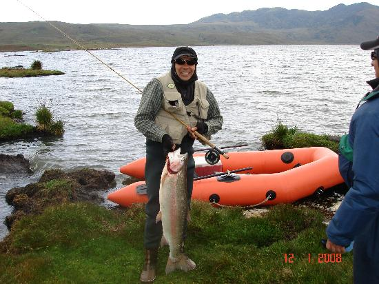 Cotopaxi Province, Ekvador: TRout fishing in Yanahurco