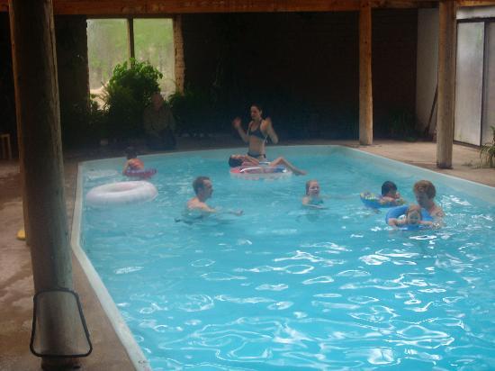 Casita Chamisa: The Huge Indoor Pool