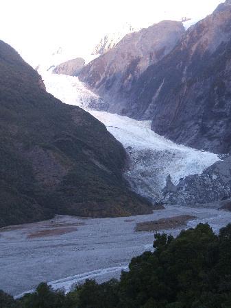Glenfern Villas Franz Josef: FJ glacier