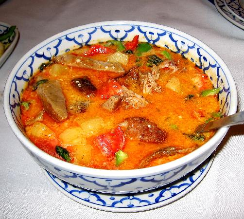 Siam Thai: Duck in red curry