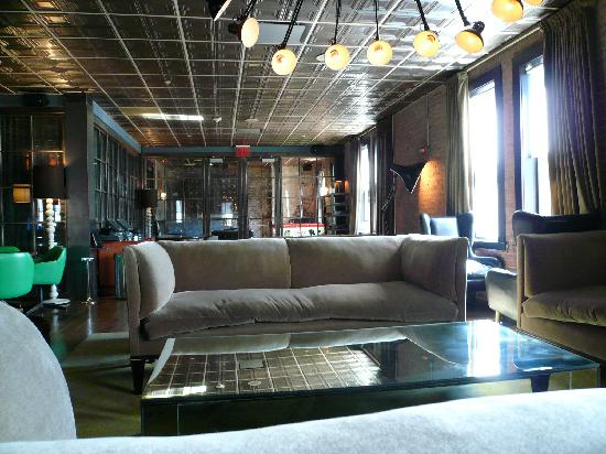 Soho House New York : lounge
