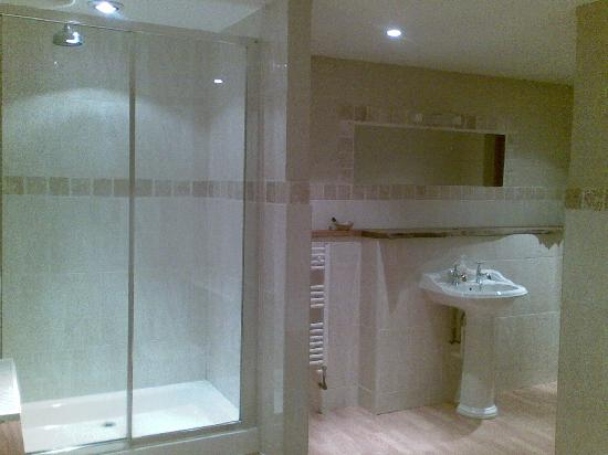 Octon Lodge : Shower end of the HUGE bathroom