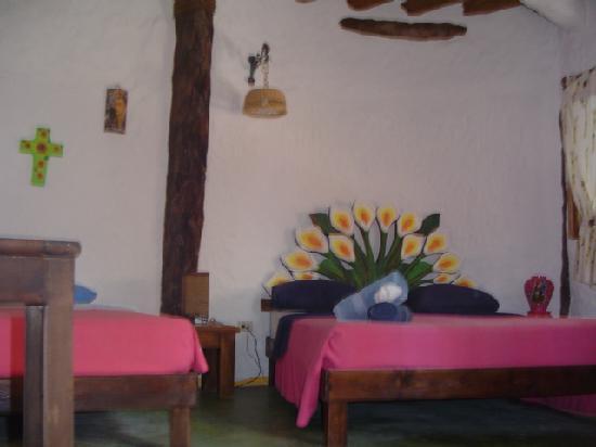 Holbox Hotel Casa las Tortugas - Petit Beach Hotel & Spa: una delle camere (sfuocata sig!)