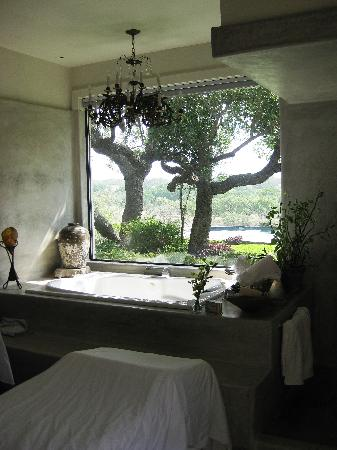 Paniolo Ranch Bed & Breakfast Spa: Spa room view