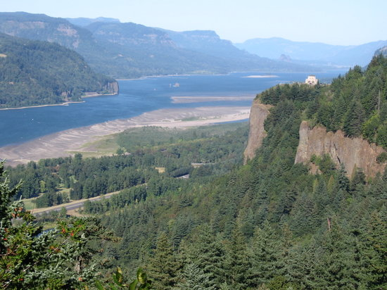 Cannon Beach, Όρεγκον: Vista House along the Columbia River