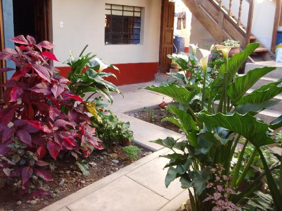 Chaska Wasi Hostel: Garden area