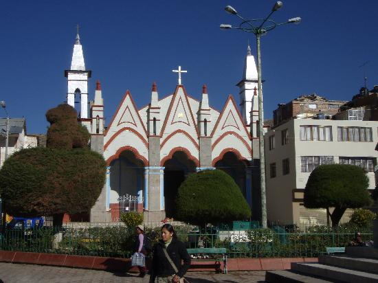 Santa Maria Inn Puno: Parque Puno, the centre of town