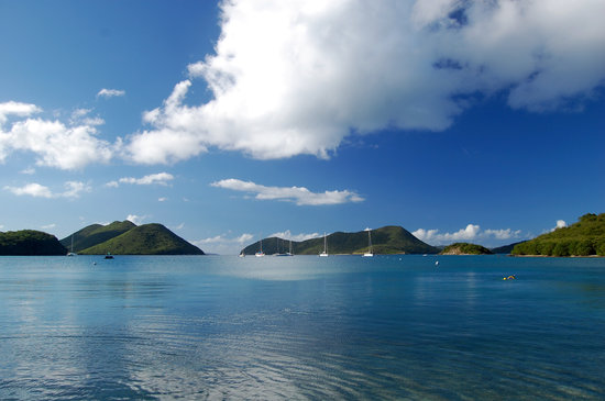 Virgin Islands National Park, St. John: View from beach