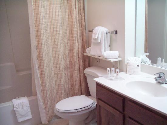TownePlace Suites St. Petersburg Clearwater: hotel toilet