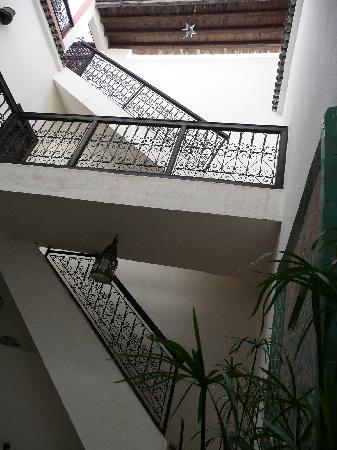 Riad Dar Zen: Vue de la cour interieure