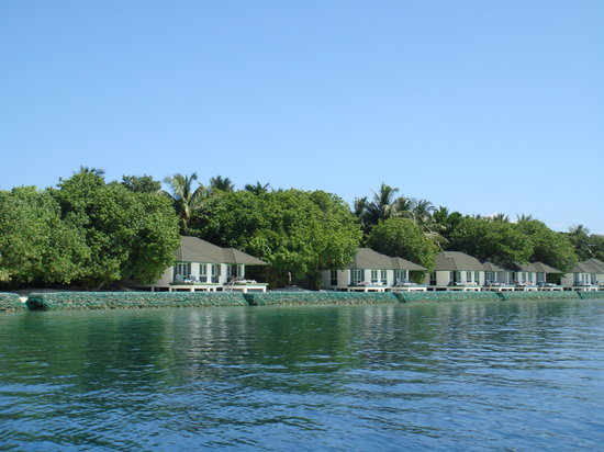 Lily Beach Resort & Spa: Lily beach from ocean