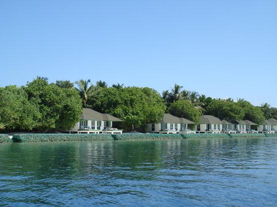 ลิลี่ บีช รีสอร์ท แอนด์ สปา-ออล อินคลูซีฟ: Lily beach from ocean