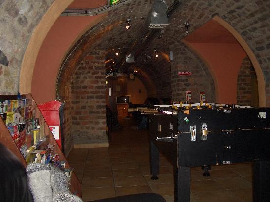 Isaacs Hostel: Cellar Area