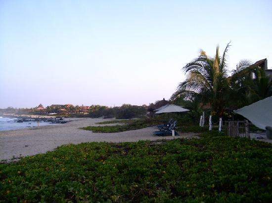 Hacienda Eden: La playa