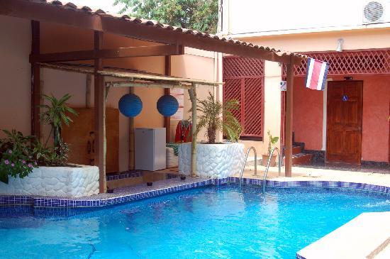Hotel Poseidon y Restaurante: The pool again
