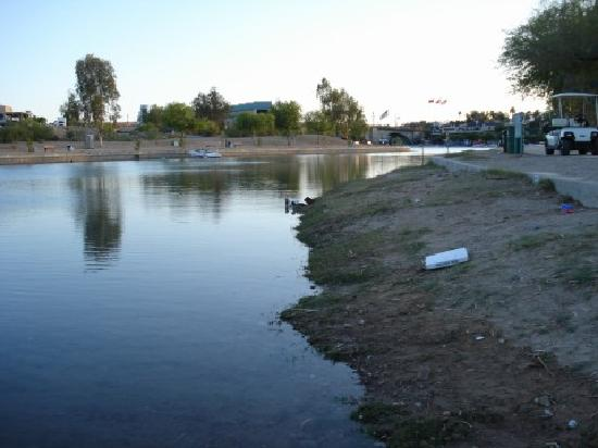 Knights Inn Lake Havasu City: empty channel