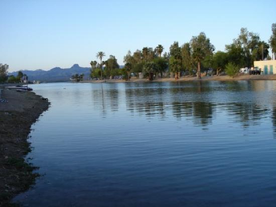 Knights Inn Lake Havasu City: early morning