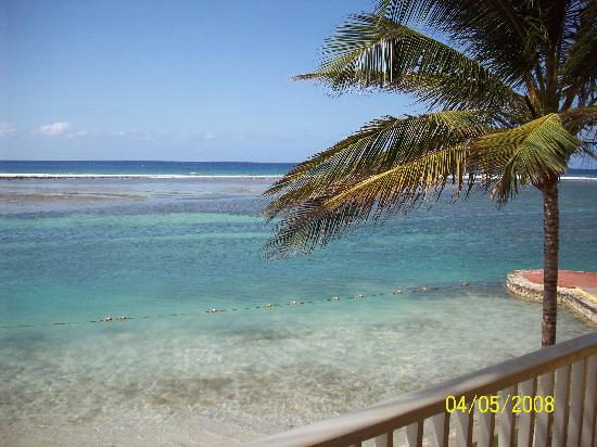 Sandals Royal Caribbean Resort and Private Island: The view from our balcony!