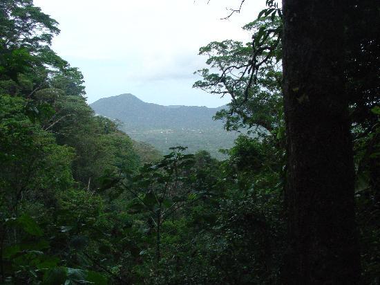 La Piedra Pintada : The top of the trail