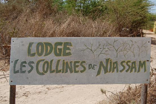 Les Collines De Niassam : Panneau