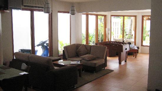 Boracay Beach Club: inside resto