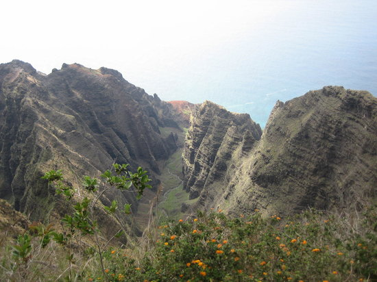 Waimea Canyon: View at the end