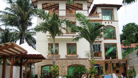 Boracay Beach Club: hotel view